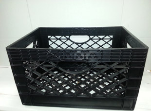 Injection Molded Milk Crate